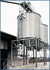 A Tecnograin example of grain storage silos