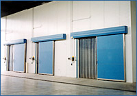 Coop. L'Unitaria, Porcari (LU) - Italy; 1.750 m³ cold rooms for grain storage