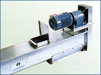 Open auger conveyors for grain