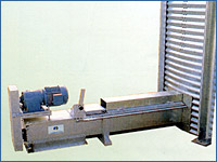 Open auger conveyors for cereal
